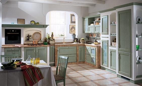 Le cucine in muratura: roba di classe!