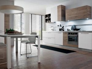 Cucina Gicinque_modello Oslo_rovere Denver