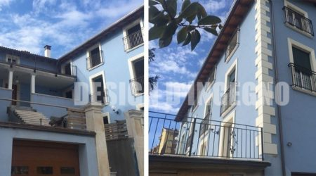 Costruzione di edificio con struttura in acciaio