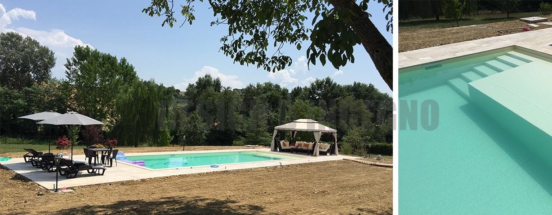 Realizzazione di una piscina a Perugia