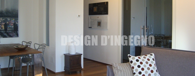 Progettazione d'interni di una villetta in Toscana (Siena)