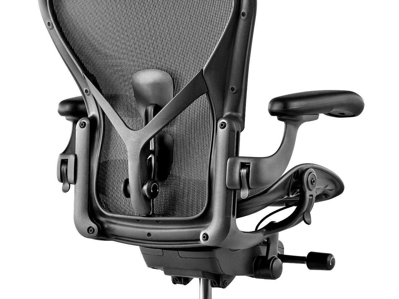 Dettaglio sedia Aeron