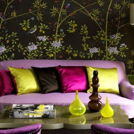 Dark-wallpaper-design-flower