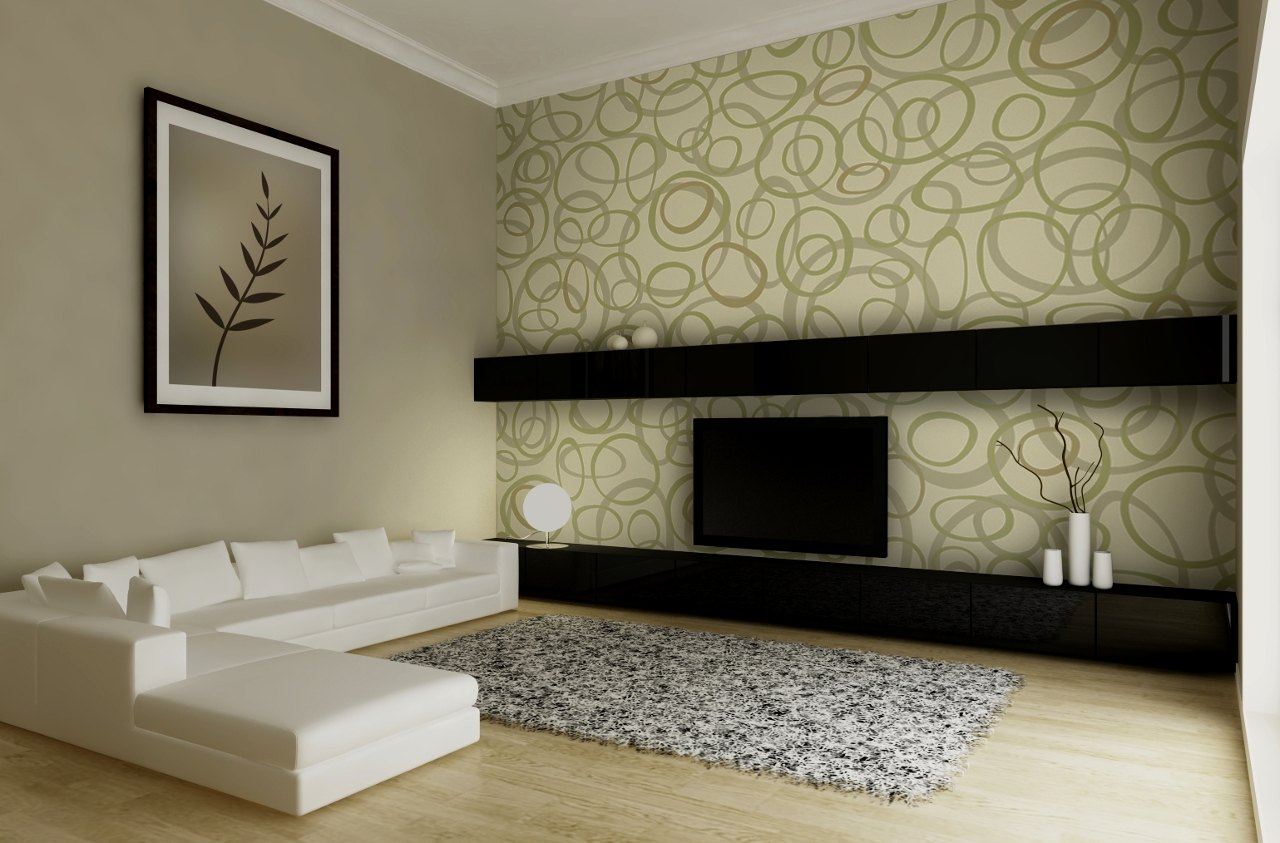 Wallpaper design per il salotto