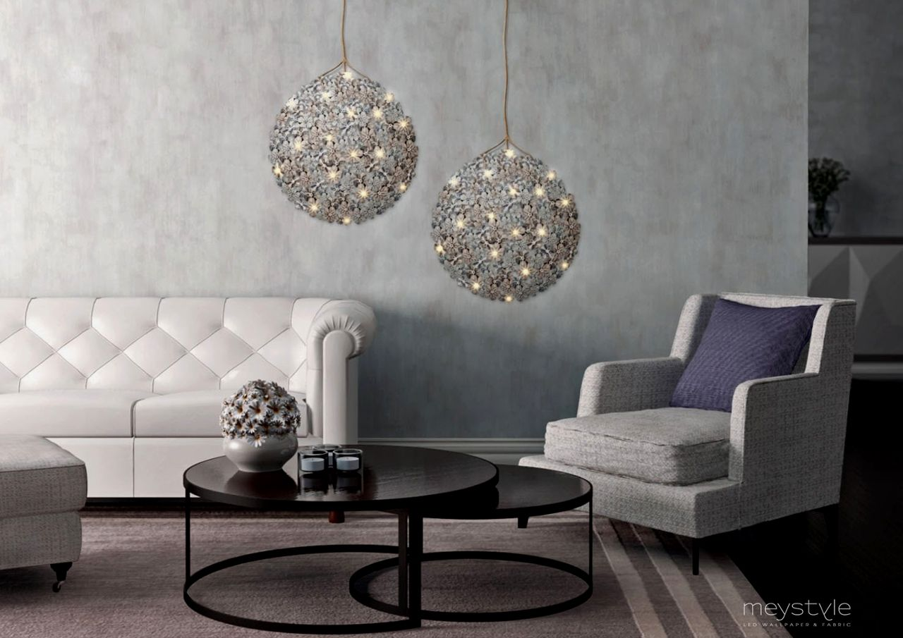 LED wallpaper Chandelier by Meystyle