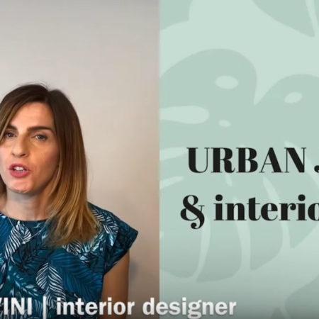stile urban stile jungle nell'interior design